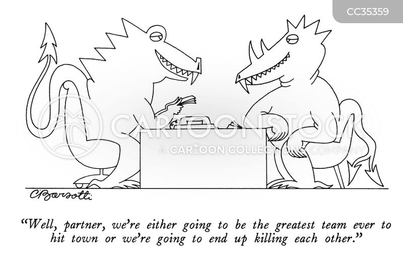 partners cartoon