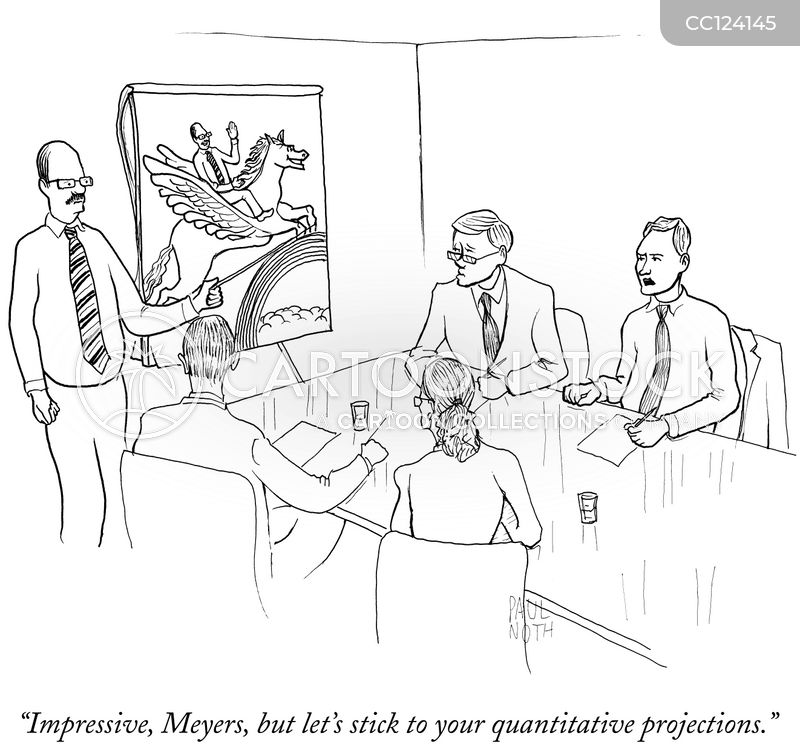 Projections cartoon
