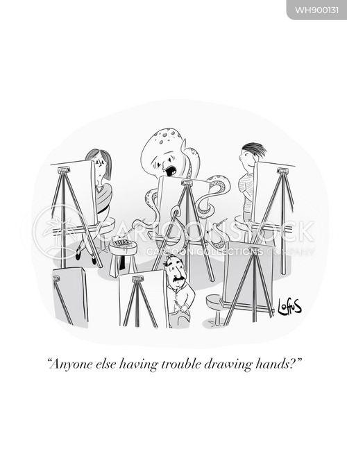 octopuses cartoon