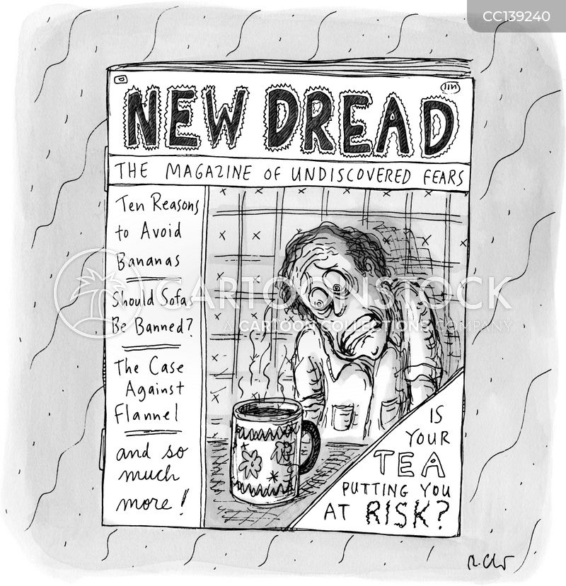 fear mongering cartoon