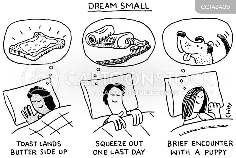 Dreaming cartoon