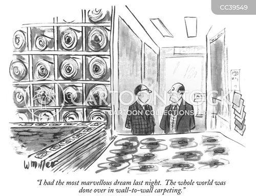 carpet salesmen cartoon
