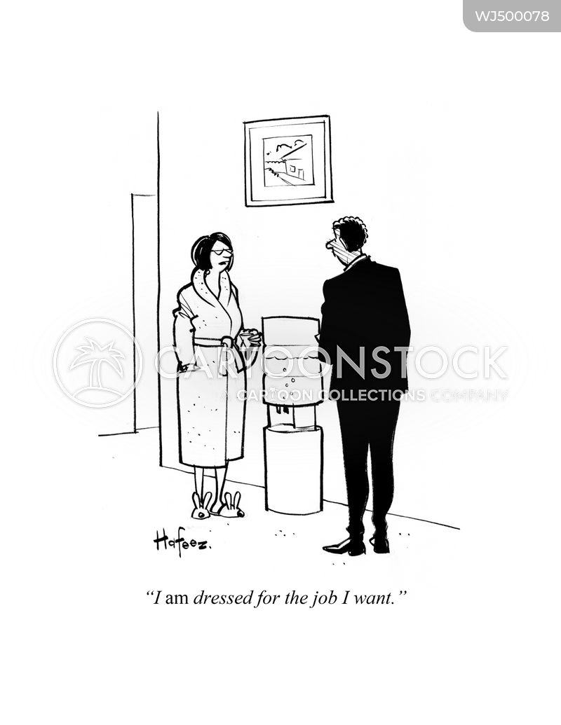 Dressing Gown cartoon