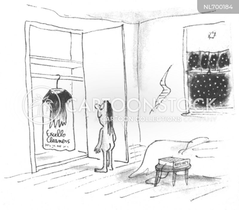 Drycleaners cartoon