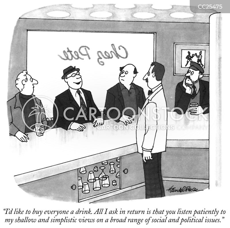Drink Round cartoon