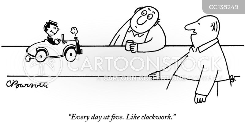 clockwork cartoon