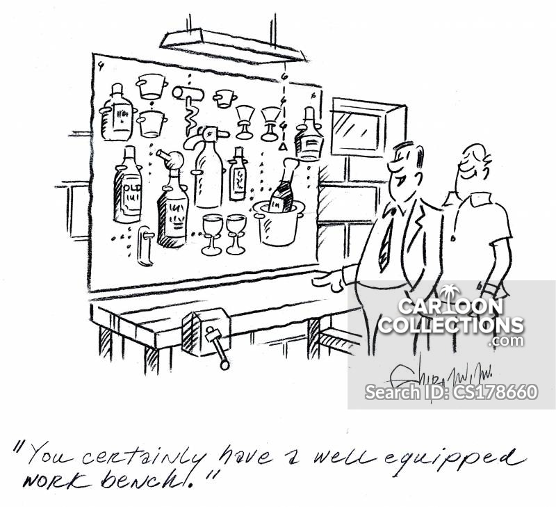 work bench cartoon