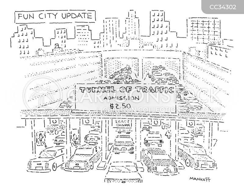 city living cartoon