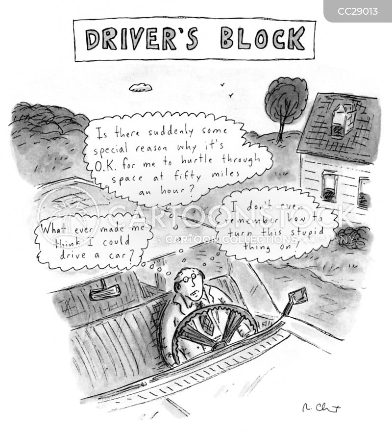 Drivers' Ed cartoon
