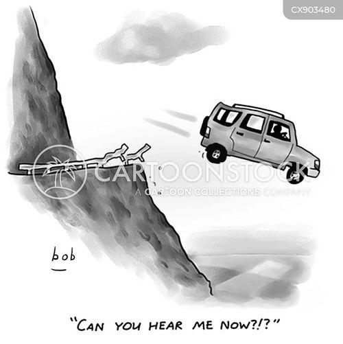 bad signal cartoon