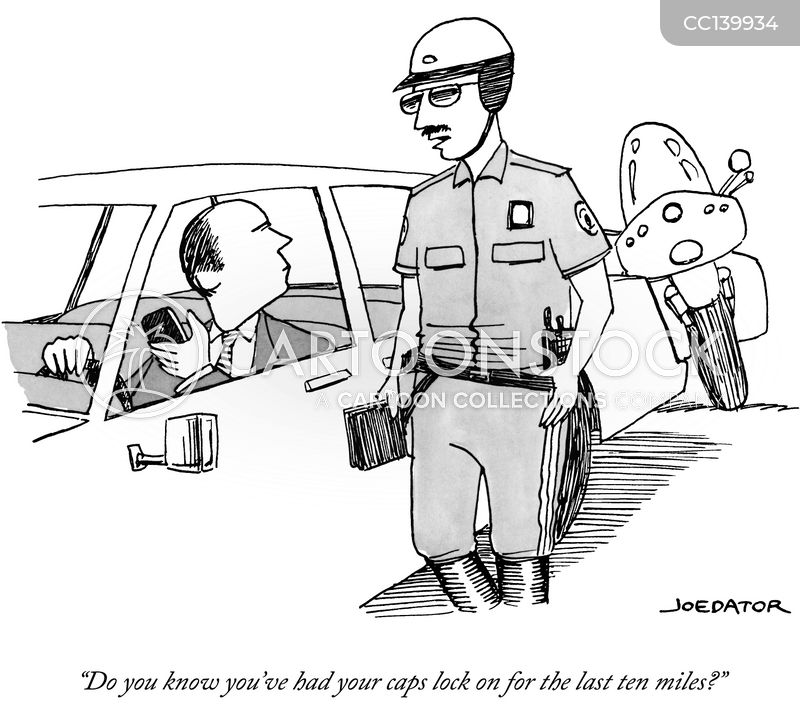 police man cartoon
