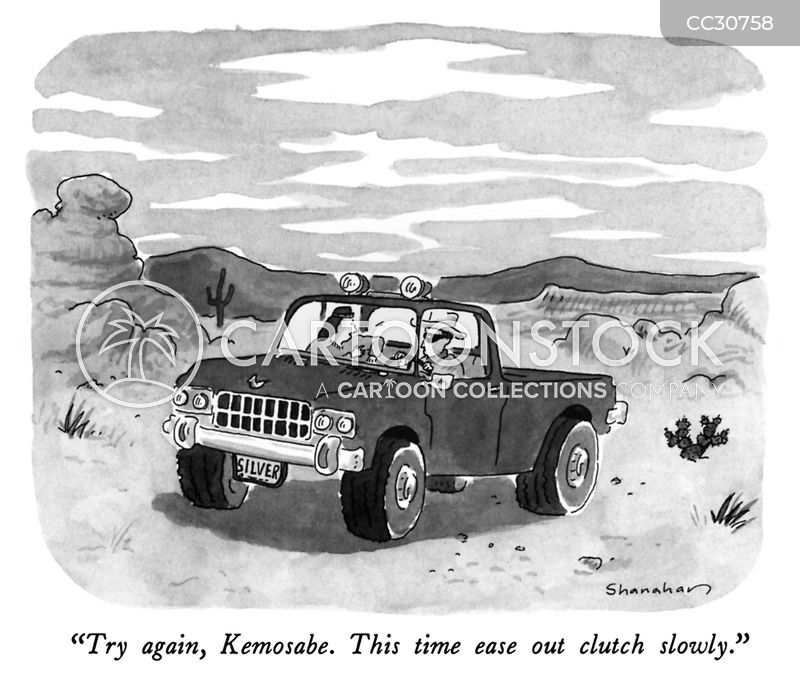 backseat drivers cartoon