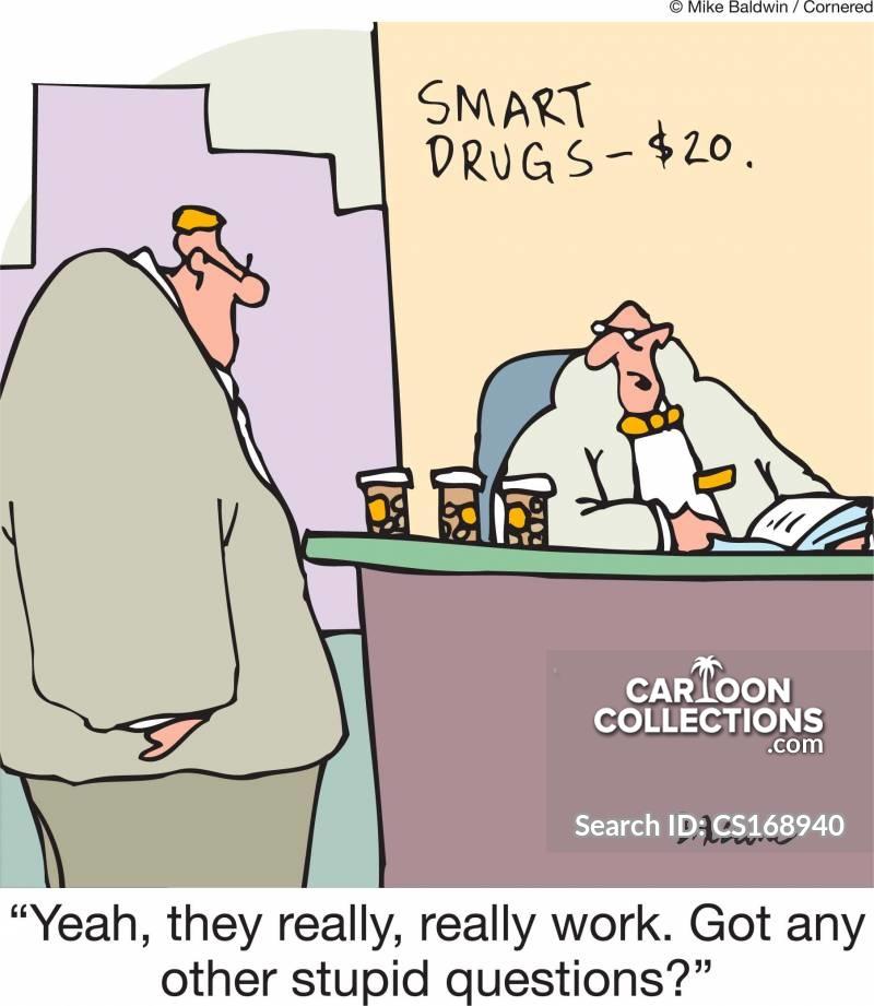 dumb customers cartoon