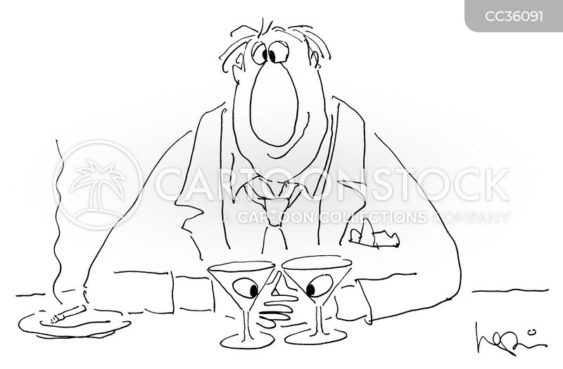 Martini cartoon