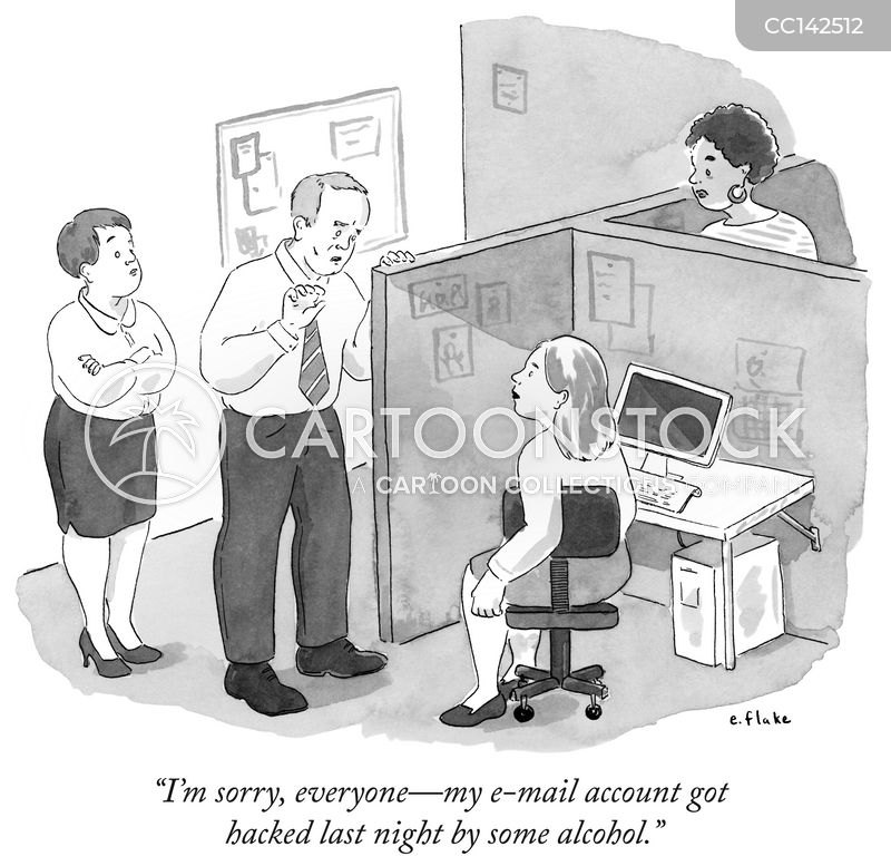 In The Workplace cartoon