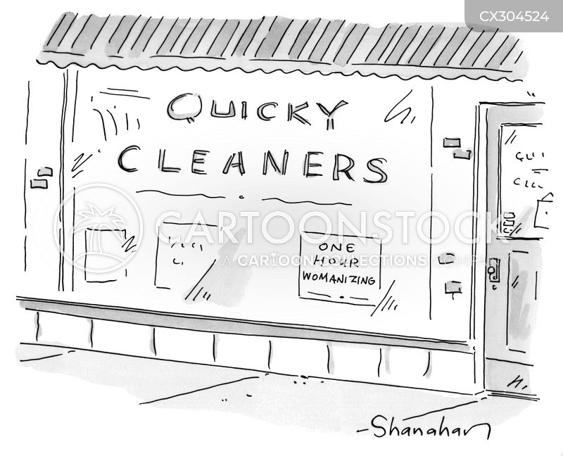 cleaning cartoon