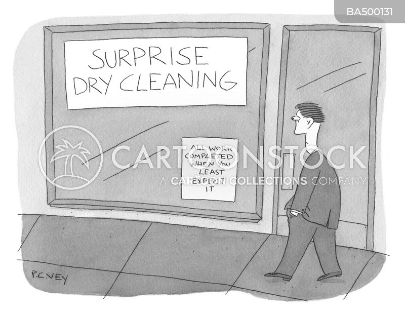 washing clothes cartoon