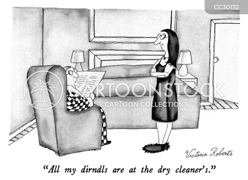 Dry Cleaning cartoon