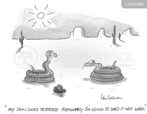 skincare cartoon