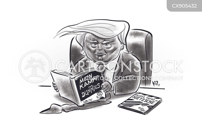 trump controversy cartoon