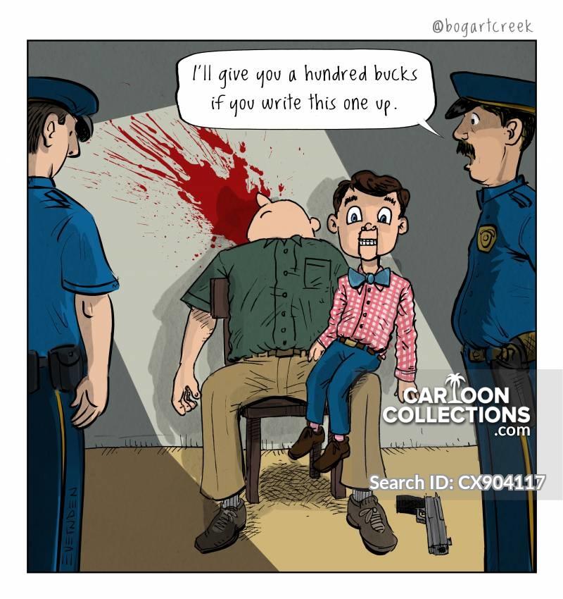death wish cartoon