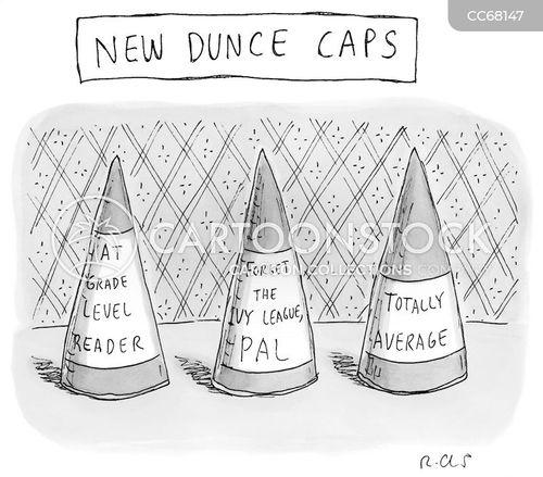 overachiever cartoon