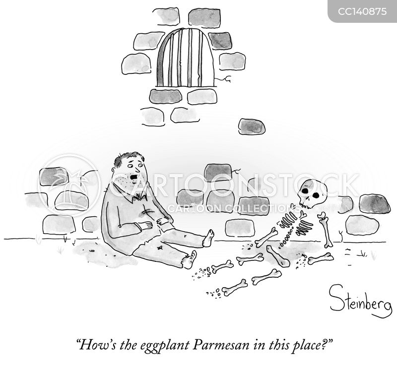 human remains cartoon