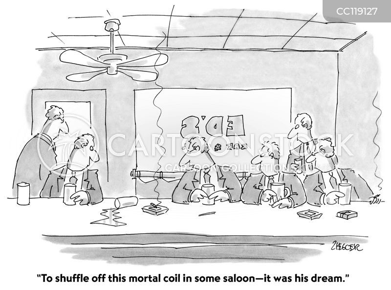 Alcohol Addicts cartoon