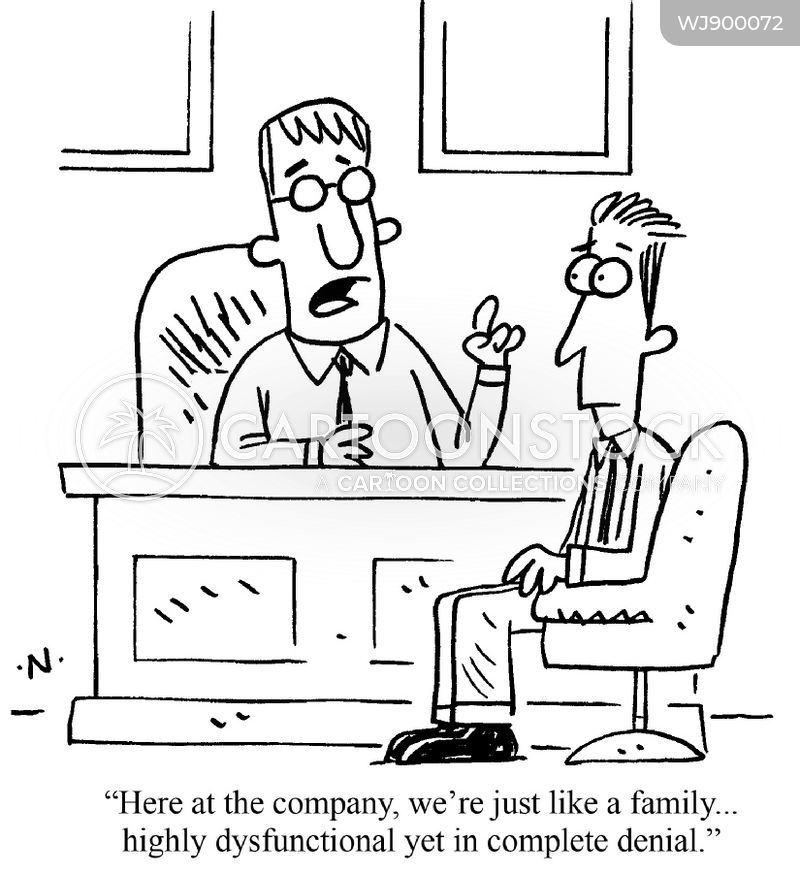 business practice cartoon