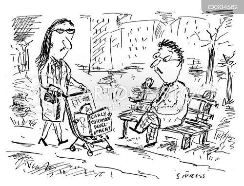 childhood development cartoon