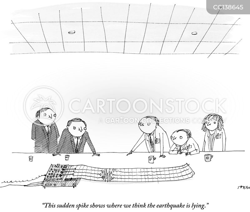 richter scale cartoon