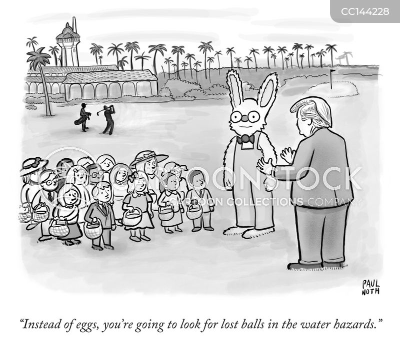 easter egg hunts cartoon