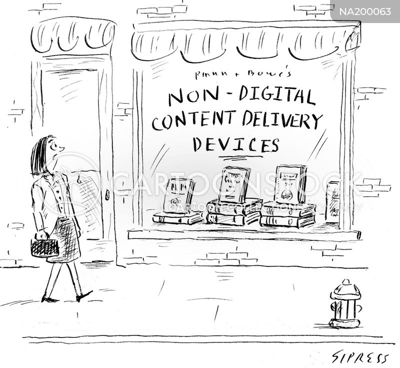 digital age cartoon