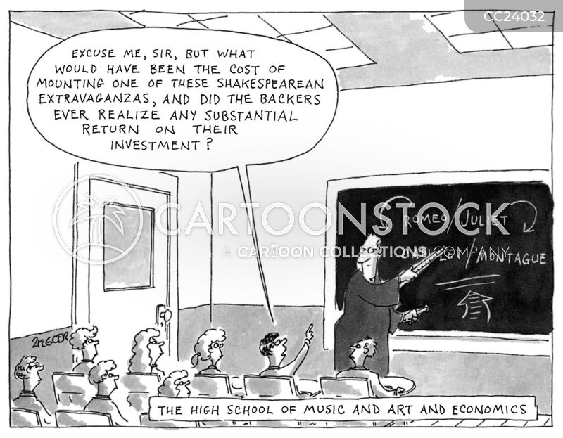 Return On Investment cartoon
