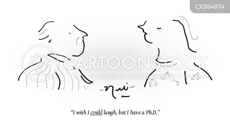doctorate cartoon
