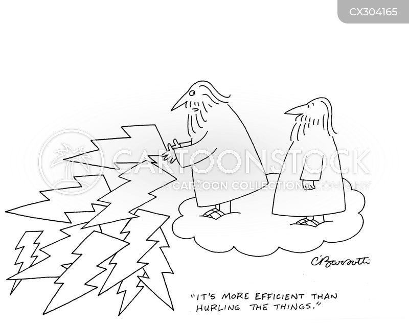 efficiency cartoon