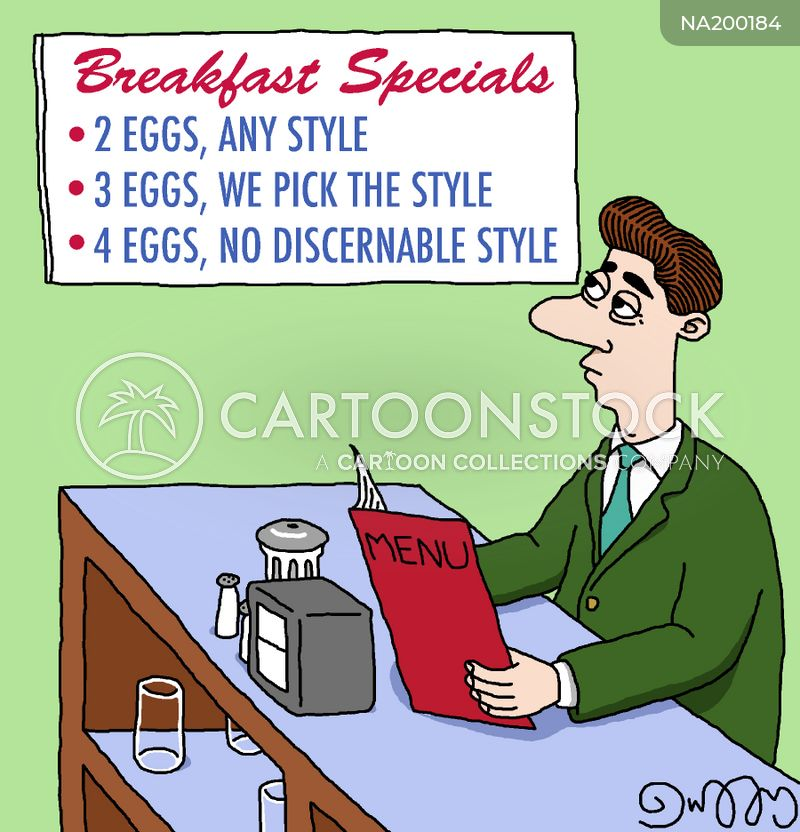 Offers cartoon