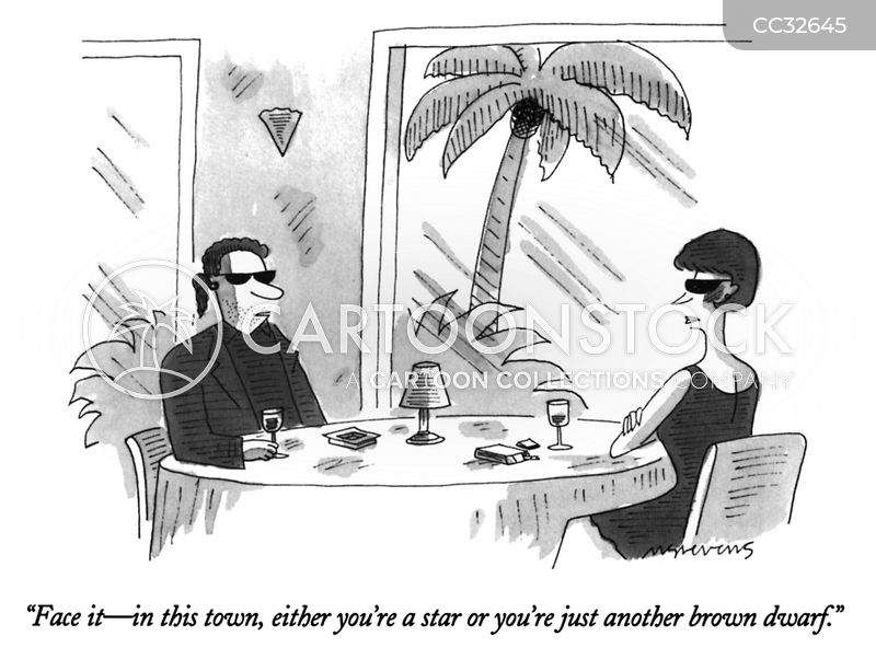 show biz cartoon