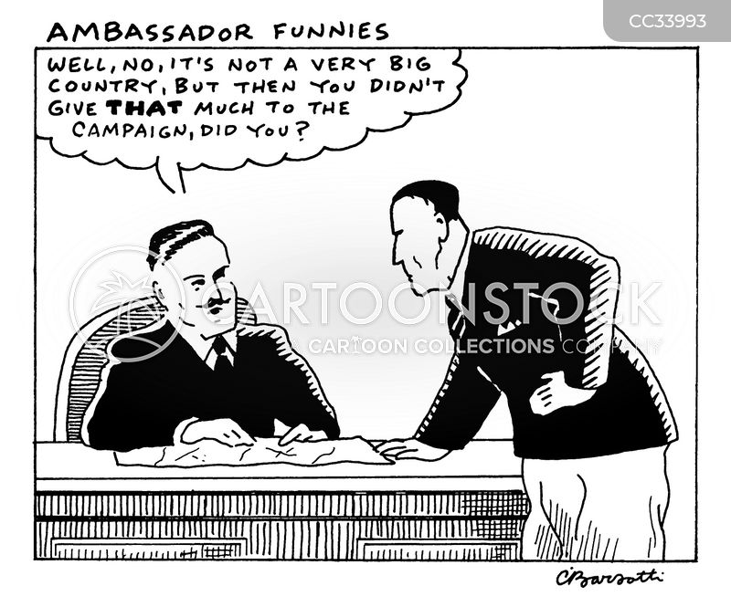diplomacy cartoon