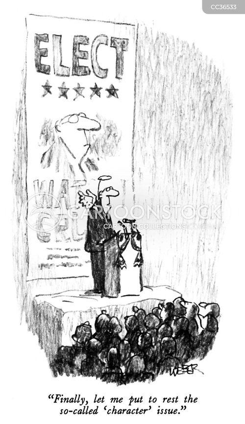 election campaigns cartoon