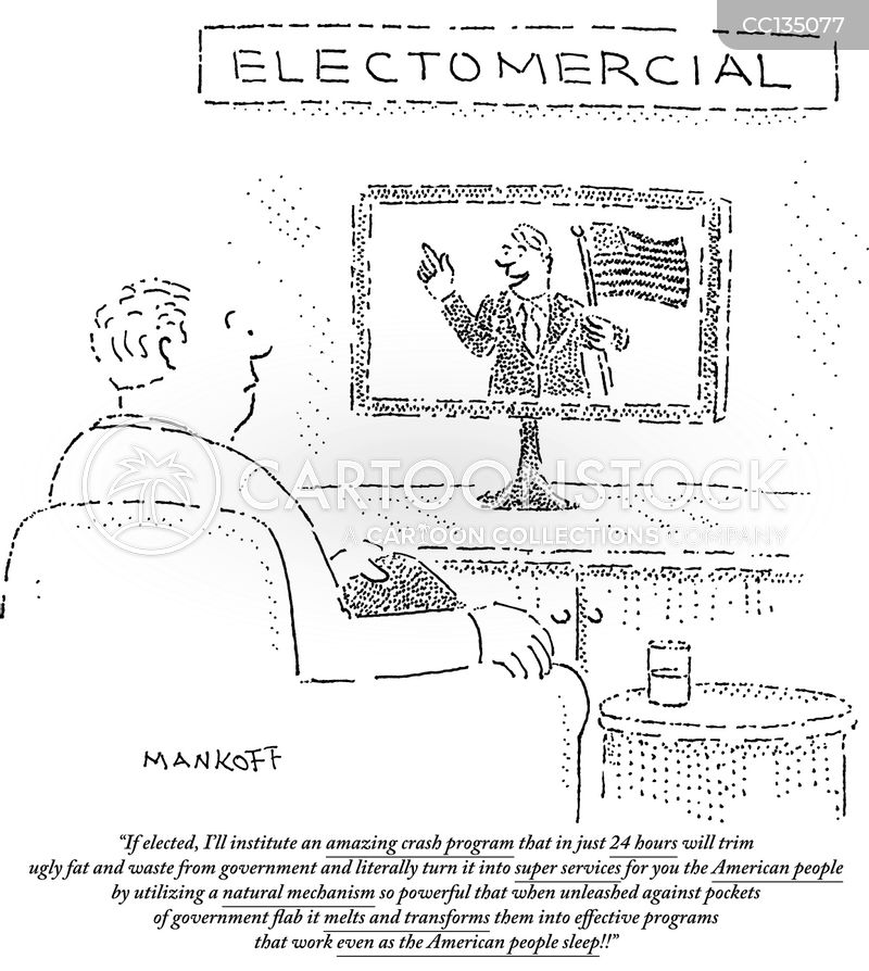 political candidates cartoon