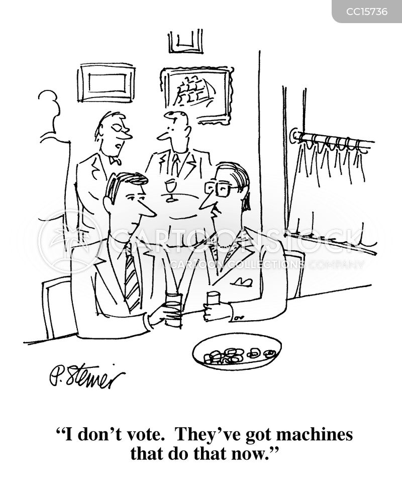 machine cartoon