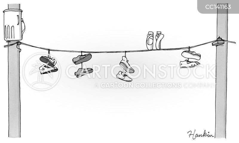 shoe cartoon