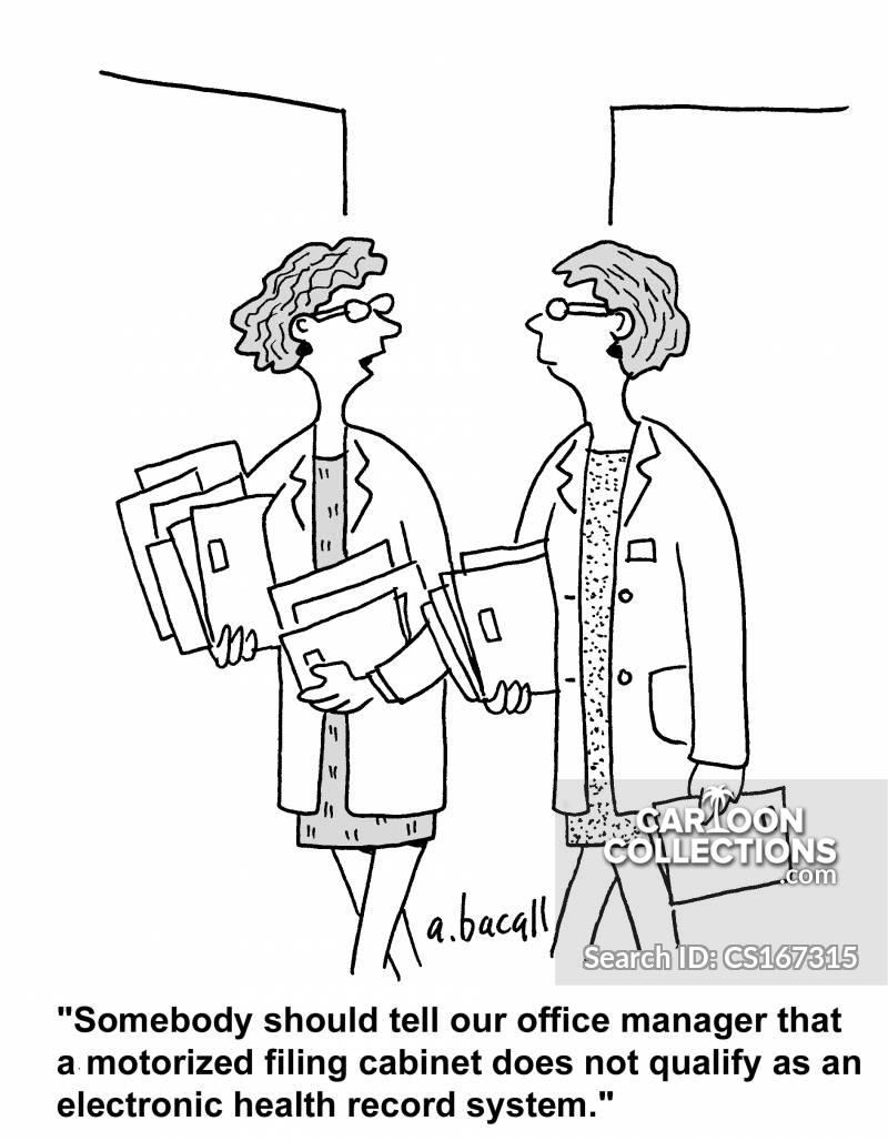office regulations cartoon
