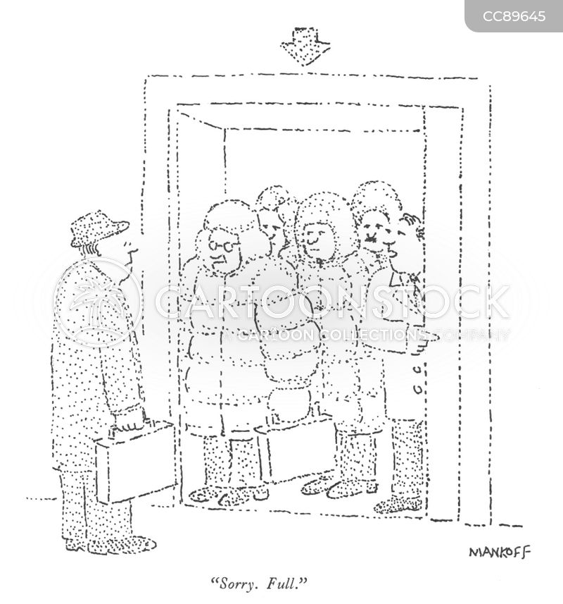 Down Jackets cartoon
