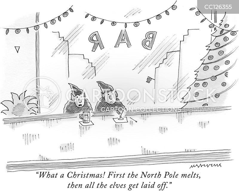 father christmas cartoon