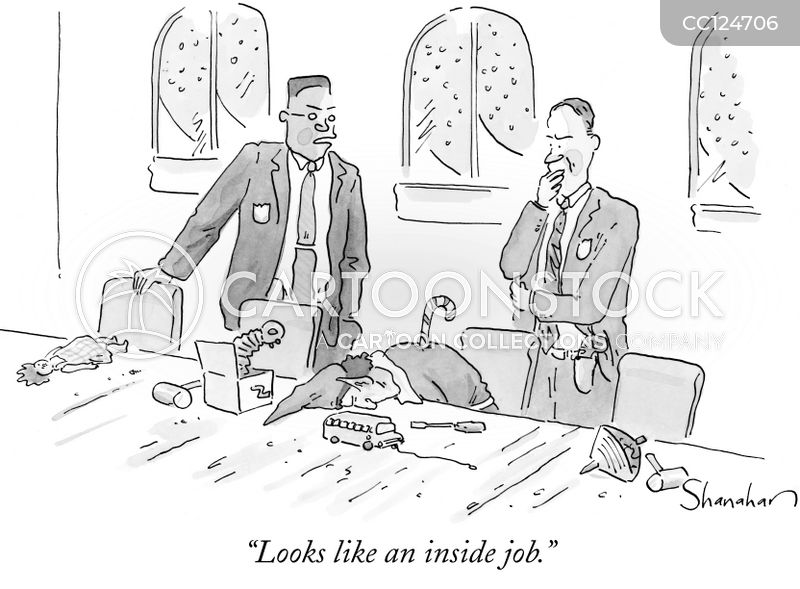 Inside Job cartoon