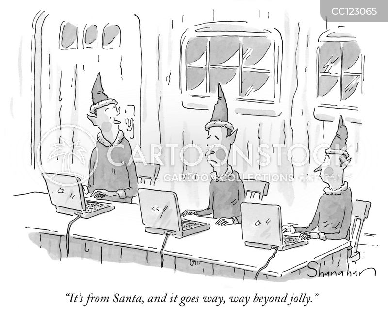 elves cartoon