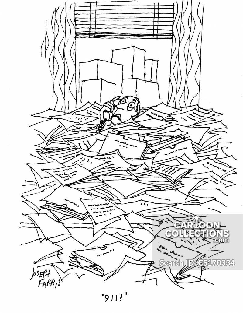 organised chaos cartoon