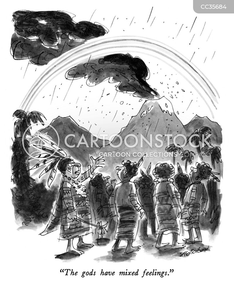 raining cartoon